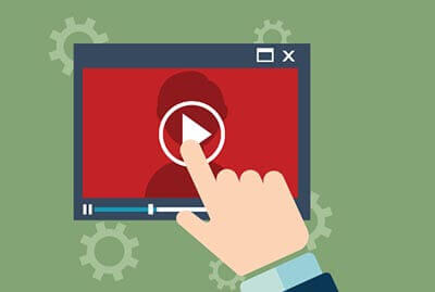 video increases click through rate