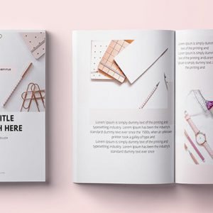 Canva Book template cover photos