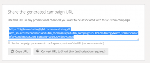 all code for Facebook URL Parameters-generated by google tool
