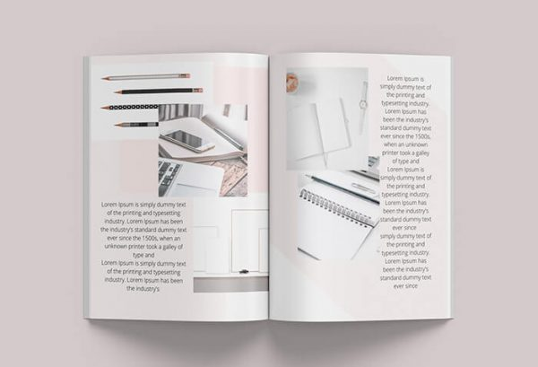 canva book template inner pages