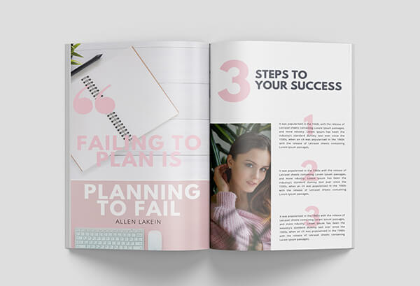 canva workbook templates success steps