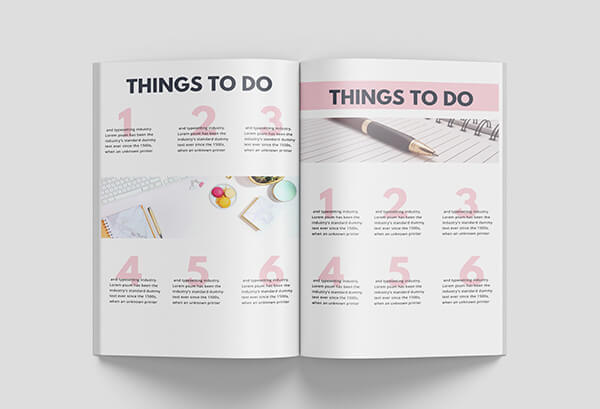 canva workbook templates things to do