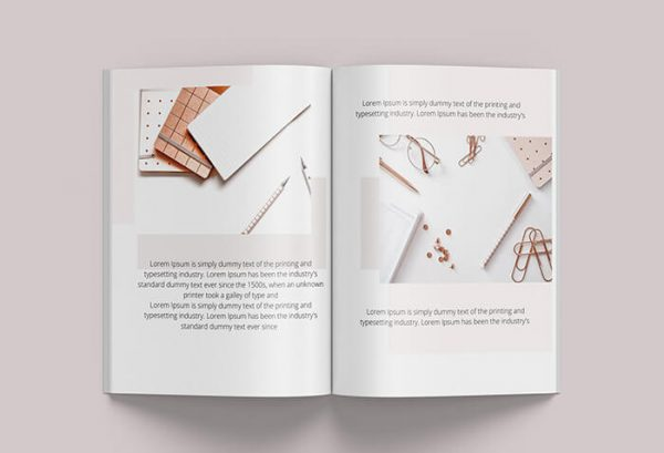 done for you canva book template