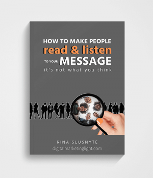 How to make people read and listen to your message